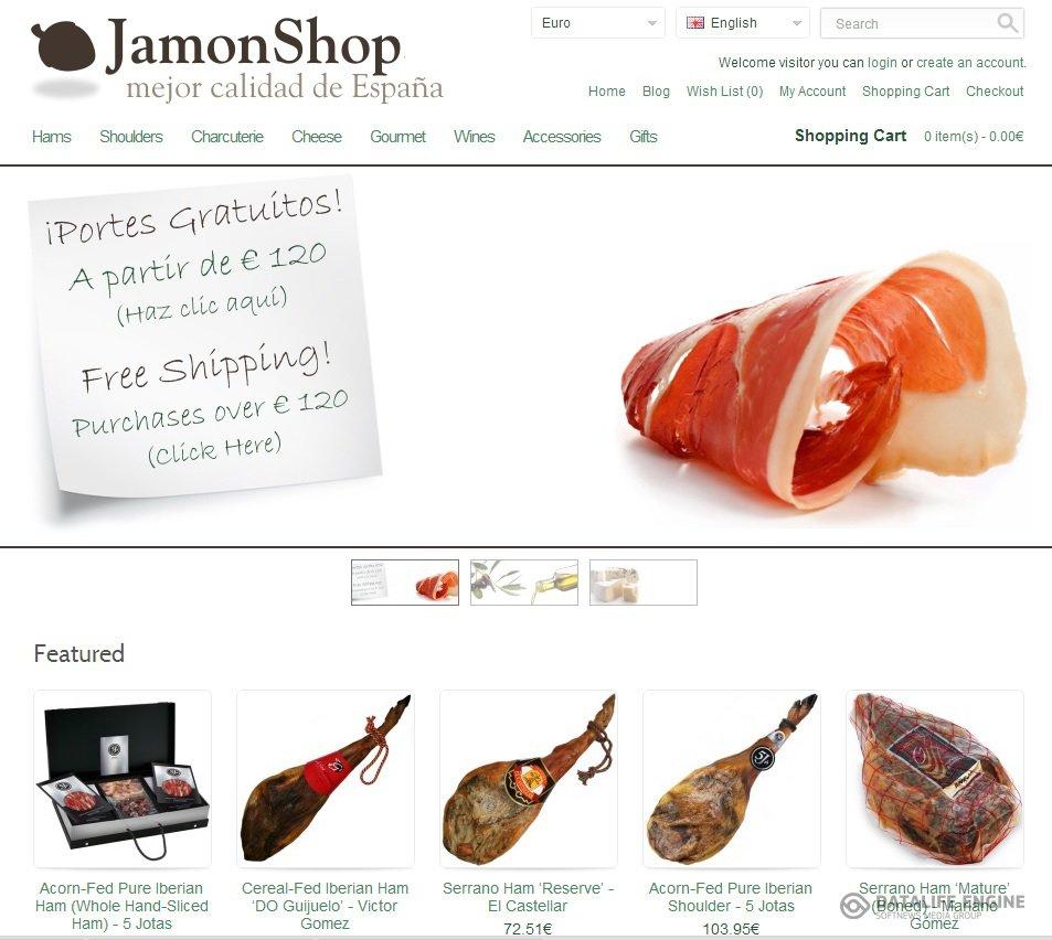 Обзор покупки в интернет магазине Jamonshop (отзыв, хамон, сыры, сладости, много фото)